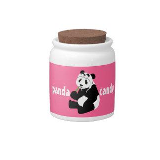 Panda Candy Candy Jar