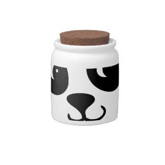 panda candy dish