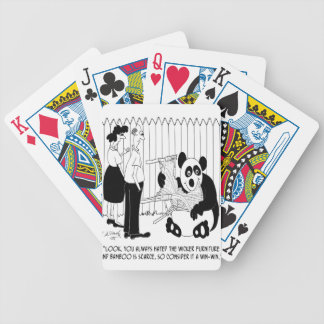 Panda Cartoon 9352 Bicycle Playing Cards