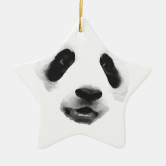 Panda Ceramic Ornament