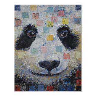 Panda Checkers Card