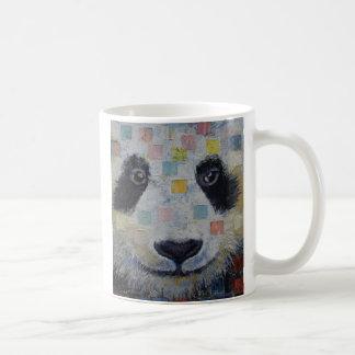 Panda Checkers Coffee Mug