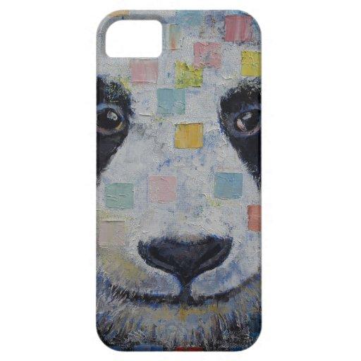 Panda Checkers iPhone 5 Cover