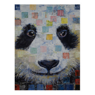 Panda Checkers Post Cards