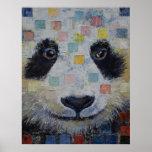 Panda Checkers Posters
