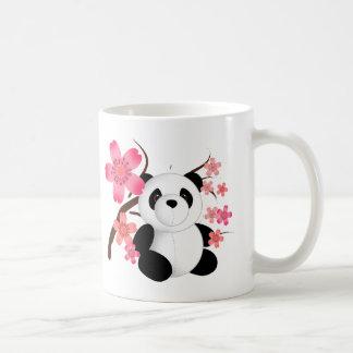 Panda Cherry Blossoms Classic White Coffee Mug
