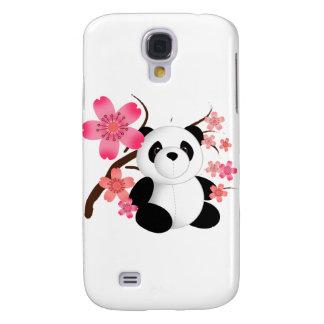 Panda Cherry Blossoms Galaxy S4 Cover