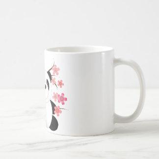 Panda Cherry Blossoms Mugs