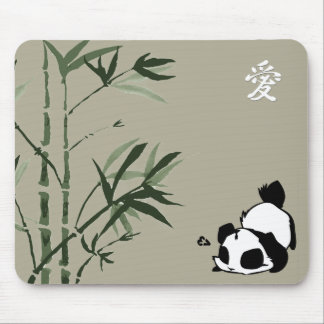 Panda china alfombrillas de raton
