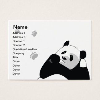 Panda - Chubby Business Card
