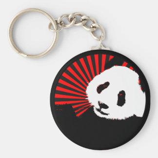 panda. circle. keychains