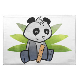 Panda Cloth Placemat