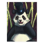 Panda con clase postales