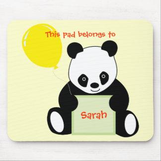 Panda con edad conocida adaptable y más del impuls alfombrilla de raton