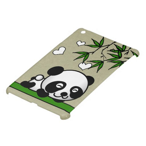 Panda confiada iPad mini funda