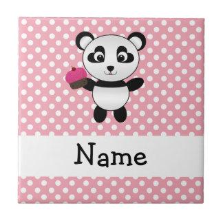 Panda conocida personalizada con los lunares de la azulejo ceramica