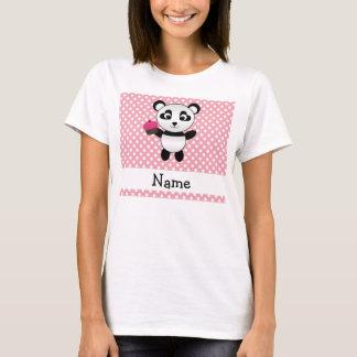 Panda conocida personalizada con los lunares de la playera