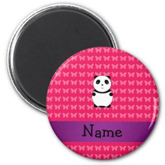 Panda conocida personalizada imán redondo 5 cm