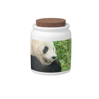 Panda  Cookie Jar Candy Dishes