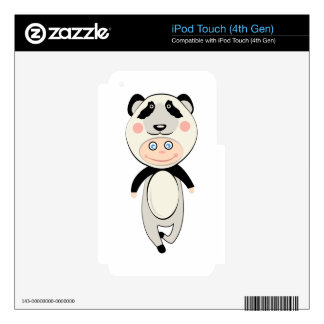 Panda Costume Decal For iPod Touch 4G