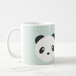 Panda couple coffee mug