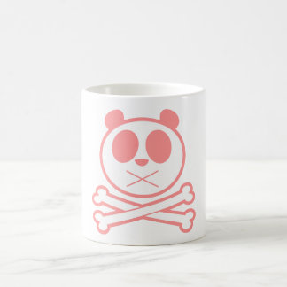 Panda Cross Bone - Pink Coffee Mug