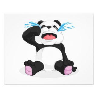 Panda Crying Personalized Flyer