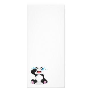 Panda Crying Custom Rack Card