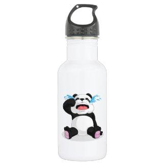 Panda Crying Stainless Steel Water Bottle
