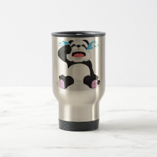 Panda Crying Travel Mug