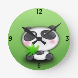 Panda Cub Fun Clocks