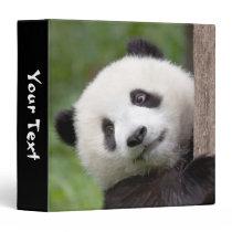 Panda cub painting binder
