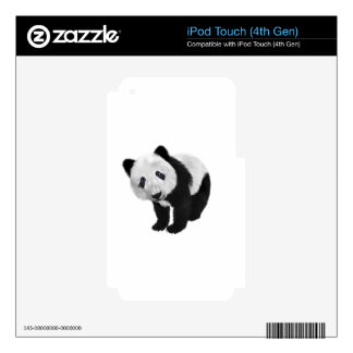 Panda Cub Skins For iPod Touch 4G
