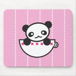 Panda Cup Mouse Pad