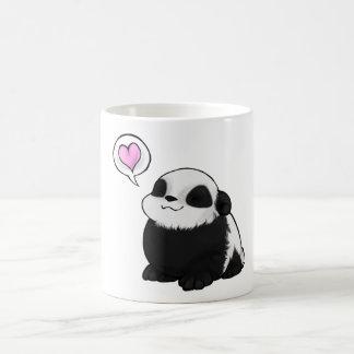 Panda cute with coils coffee mug