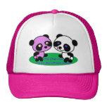 Panda Dance Mesh Hats