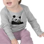 Panda de alimentación camiseta