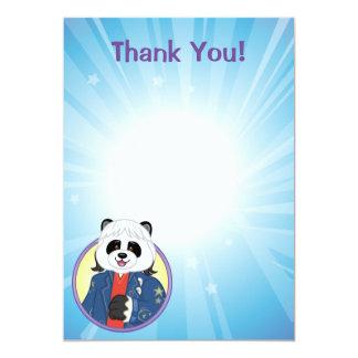 Panda de Amanda Invitación 12,7 X 17,8 Cm