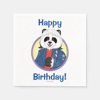 Panda de Amanda Servilleta De Papel