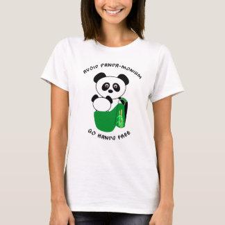 Panda de Babywearing - evite la Panda-monium Playera