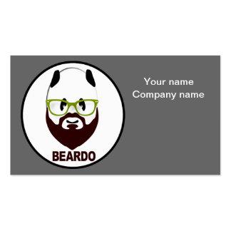 Panda de Beardo Tarjetas De Visita