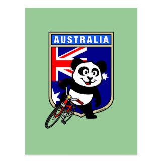 Panda de ciclo de Australia Postal