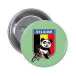 Panda de ciclo linda de Bélgica Pins