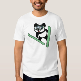 panda de Esquí-salto Camisas