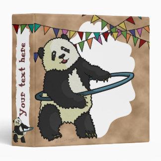 Panda de Hoola Hooping carpeta