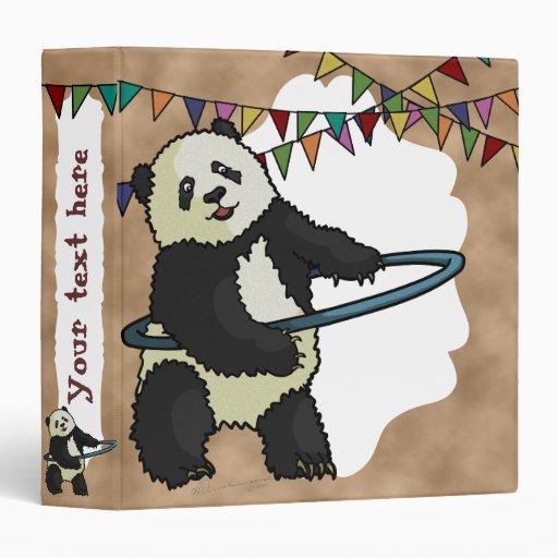 Panda de Hoola Hooping, carpeta