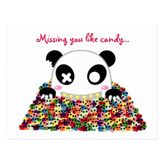 "Panda de Ijimekko ""que le falta "" Postales"