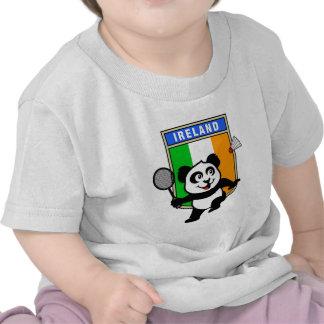 Panda de Irlanda del bádminton Camiseta