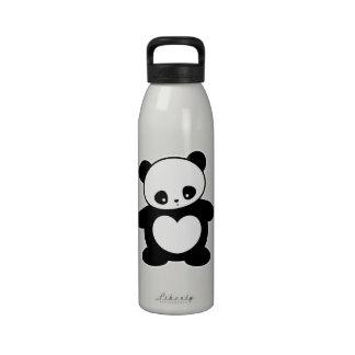 Panda de Kawaii Botellas De Beber