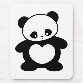 Panda de Kawaii Alfombrilla De Ratón